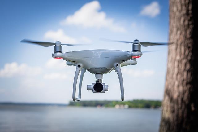 monitoreo vocanico con drones