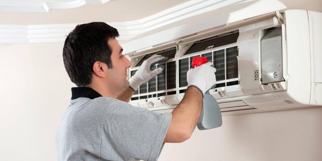 sanitizar aire acondicionado 4 min